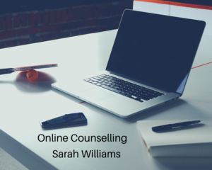 Online Counselling. computer pic